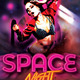 Music Future Party Flyer Template - GraphicRiver Item for Sale
