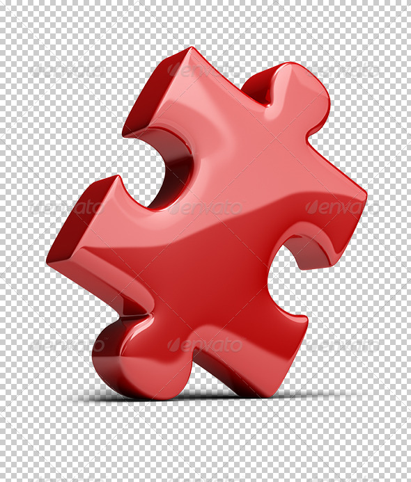 GraphicRiver Puzzle Piece 5577282