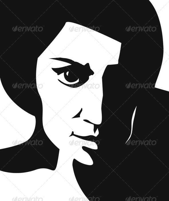 GraphicRiver Woman Portrait 5578230