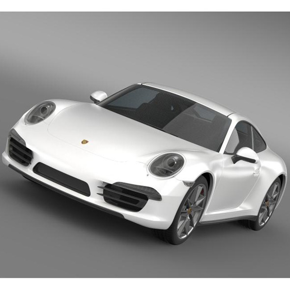 3DOcean Porsche 911 Carerra 2013 5579950