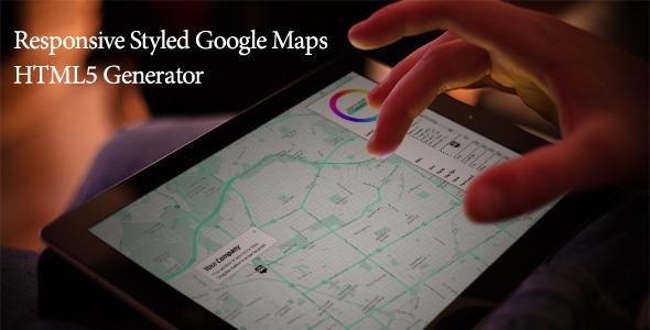 Generador de Mapas Adaptables HTML5 Google Maps