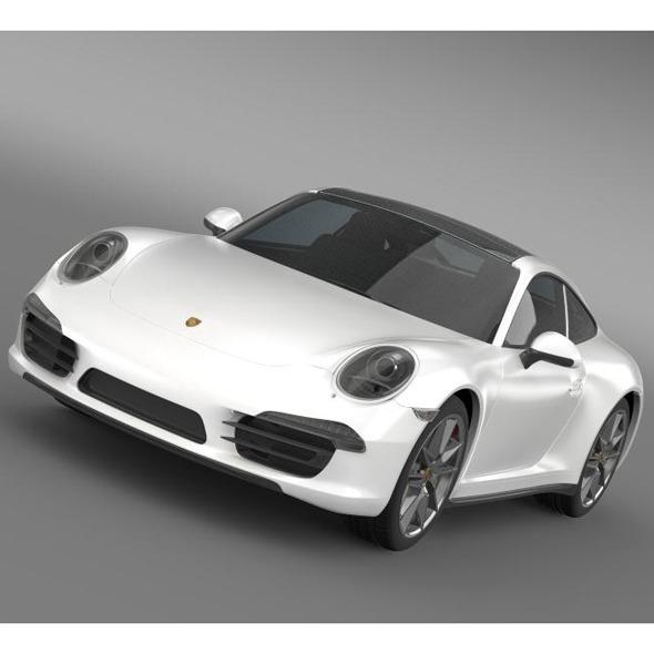 3DOcean Porsche 911 Carerra 4 2013 5579983