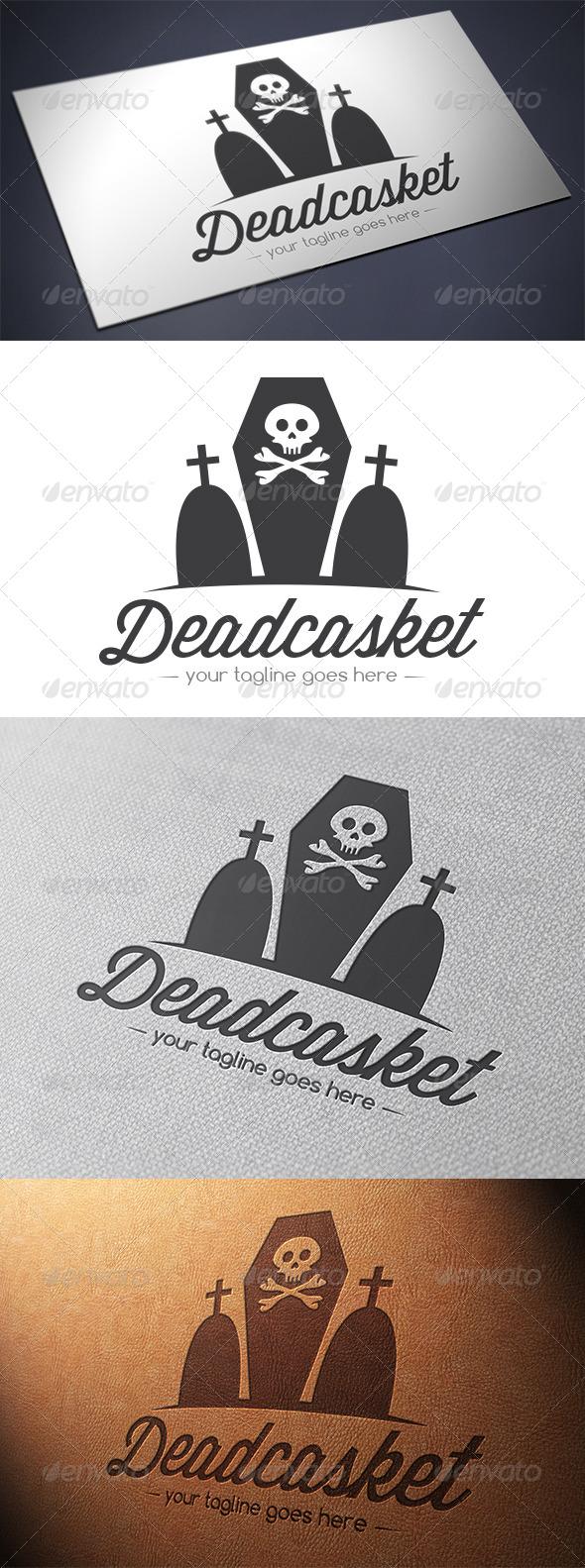 GraphicRiver Coffin Logo 5581657