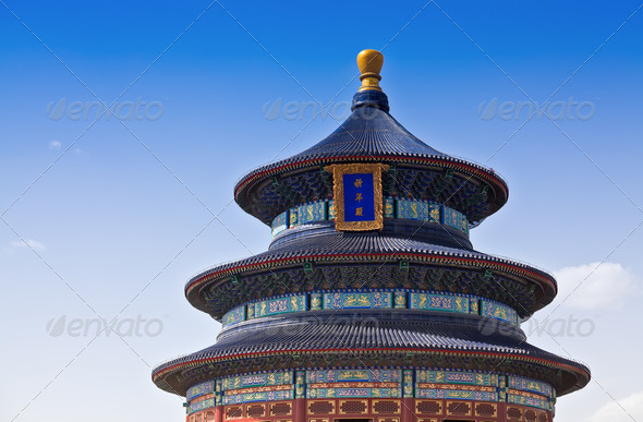 Temple of Heaven - Stock Photo - Images