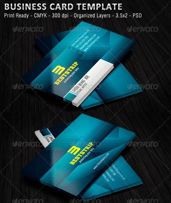 GraphicRiver Personal Business Card v1 5582167