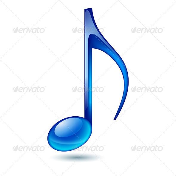 GraphicRiver Music Note 5583269