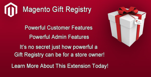 Magento Gift Registry Extension - CodeCanyon Item for Sale
