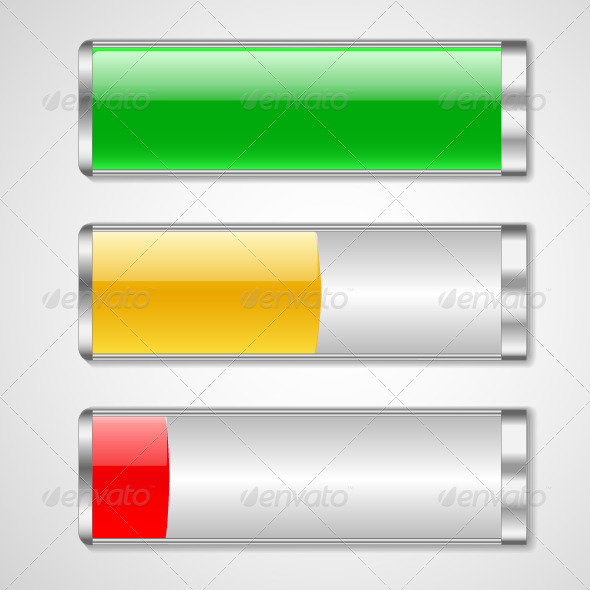 GraphicRiver Battery Charge Status 5584926