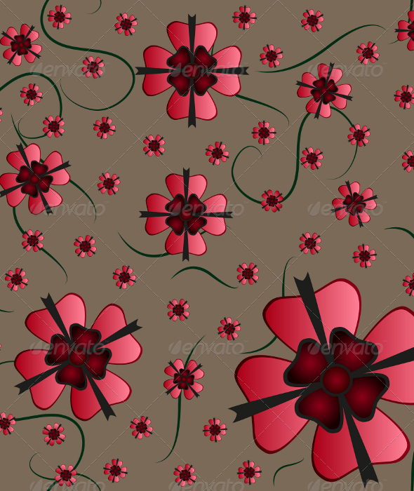 GraphicRiver Flower Seamless Pattern 5585358
