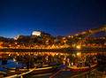 old town river area of porto in portugal at night - PhotoDune Item for Sale