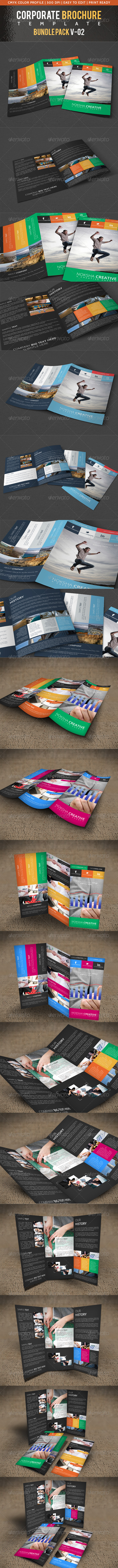GraphicRiver Corporate Brochure Bundle Pack V-02 5586307
