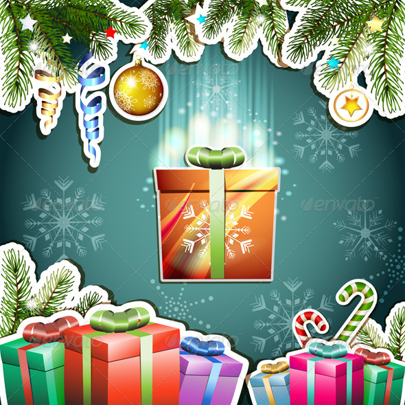 GraphicRiver Christmas Card 5586725