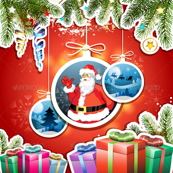 GraphicRiver Christmas Card 5586729