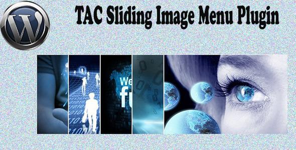 CodeCanyon TAC Sliding Image Menu Plugin 5586805