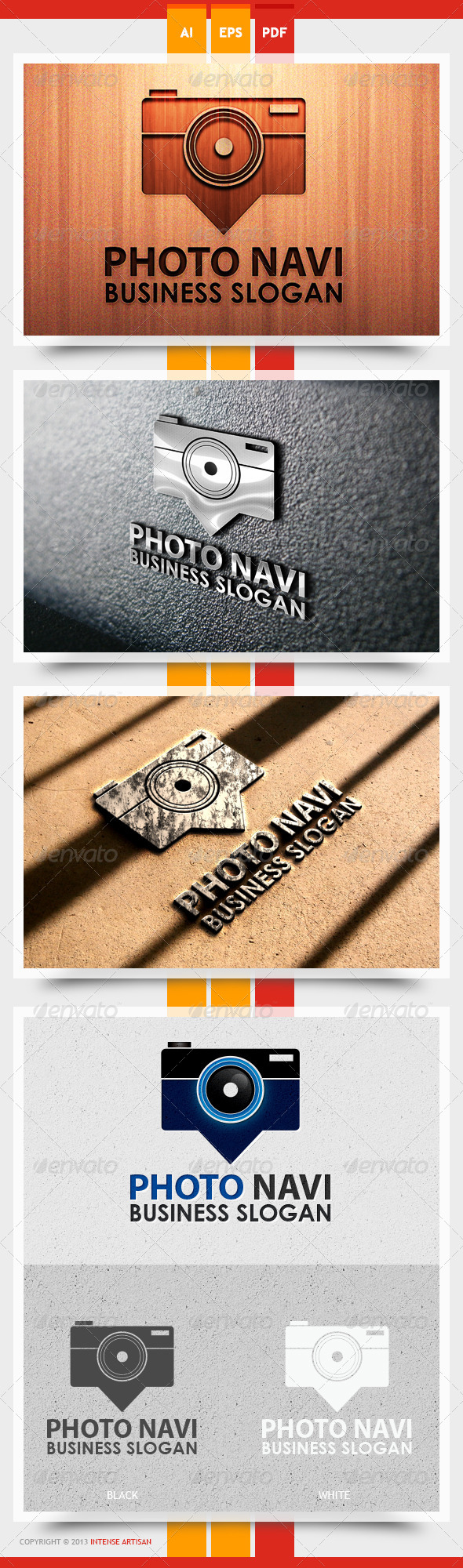 GraphicRiver Photo Navi Logo Template 5587067