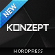 Konzept - Fullscreen Portfolio WordPress Theme - ThemeForest Item for Sale