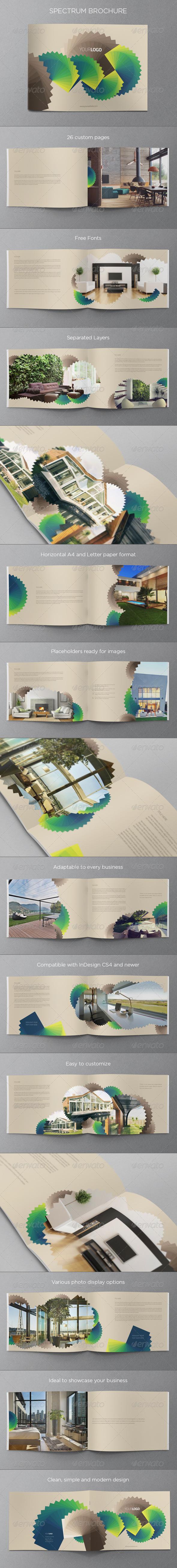 GraphicRiver Spectrum Brochure 5587708