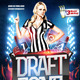 Sports Draft Zone Flyer - GraphicRiver Item for Sale