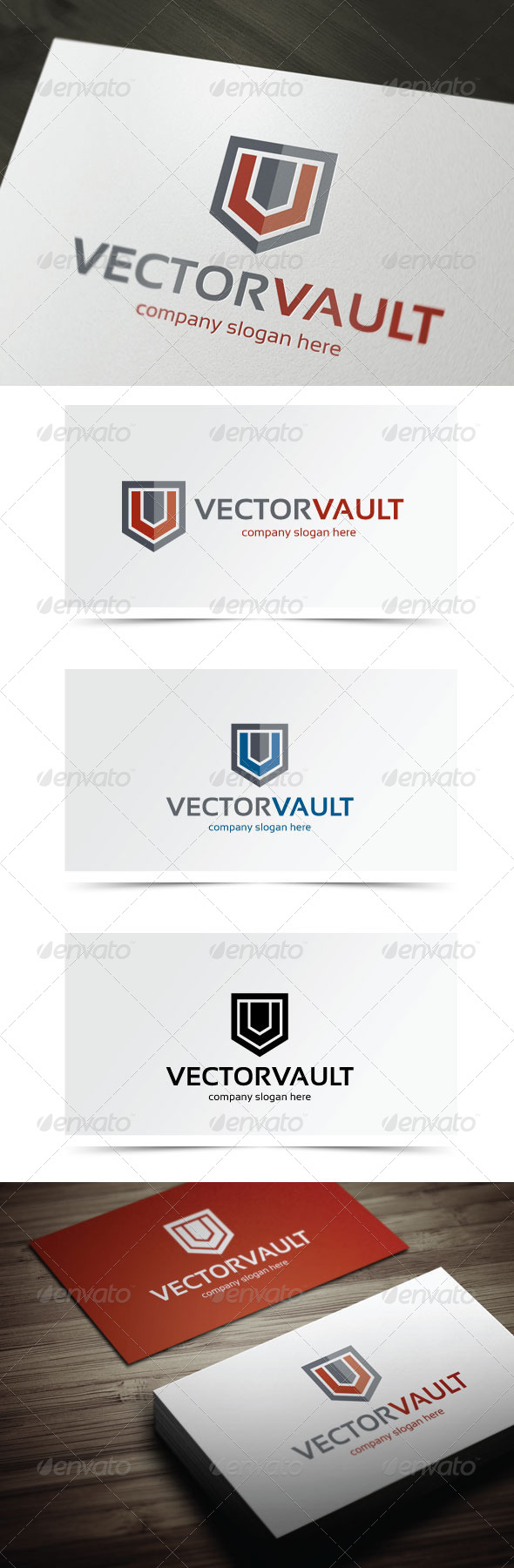 GraphicRiver Vector Vault 5589620