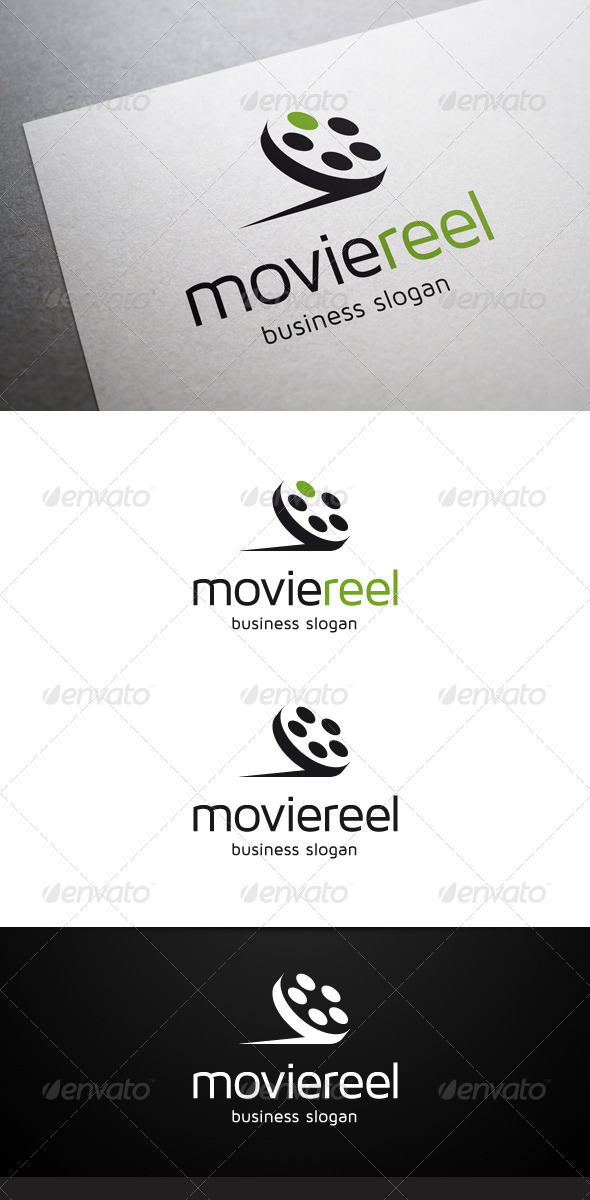 GraphicRiver Movie Reel Logo 5591250