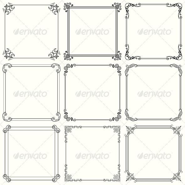 GraphicRiver Decorative Frames 5591900