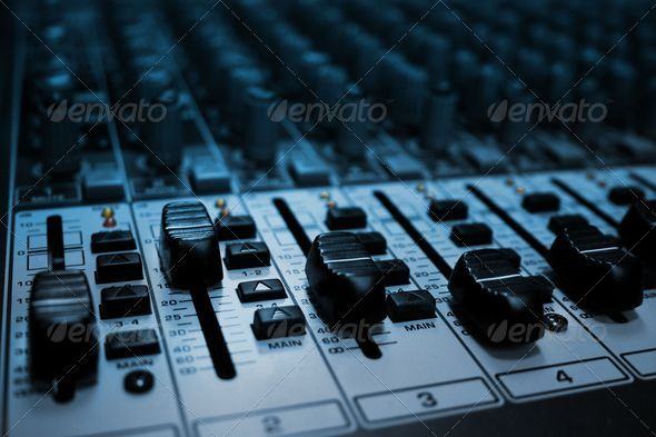 Audio Mixer - Stock Photo - Images