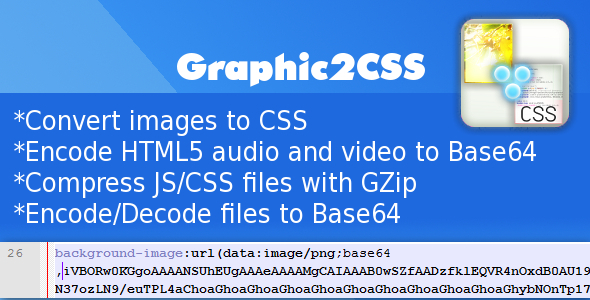 Graphic2CSS - CodeCanyon Item for Sale