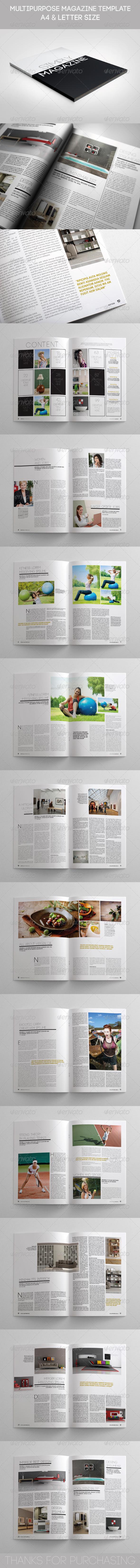 GraphicRiver Multipurpose Simply Magazine 5592808