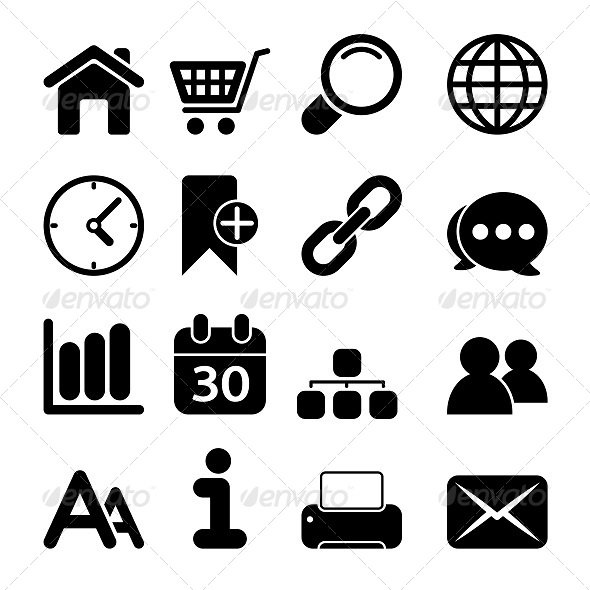 GraphicRiver Web Icons 5593128