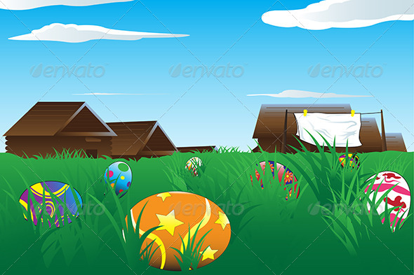 GraphicRiver Easter Eggs 5593313
