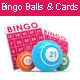 Bingo Balls with Bingo Cards - GraphicRiver Item for Sale