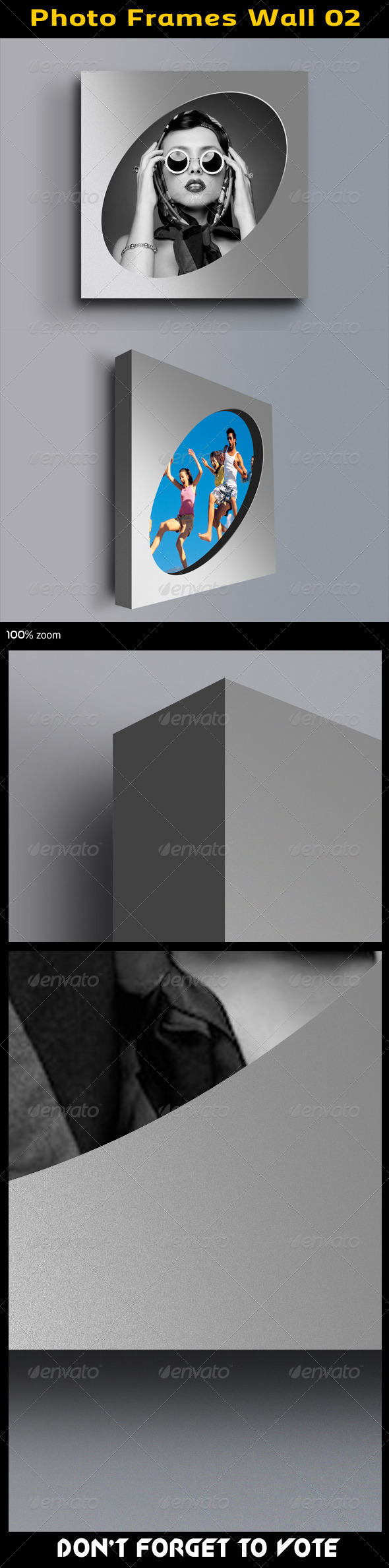 GraphicRiver Photo Frames Wall 02 5595590
