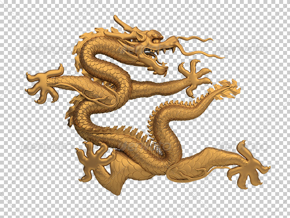 GraphicRiver Bronze Dragon 5595747