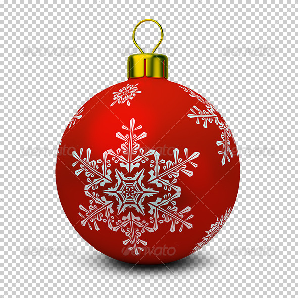 GraphicRiver Christmas Ball 5595897