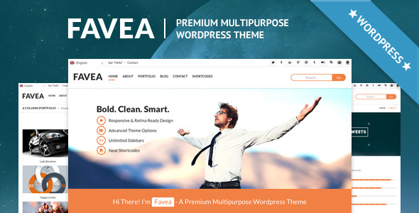 Favea - Multipurpose Wordpress Theme