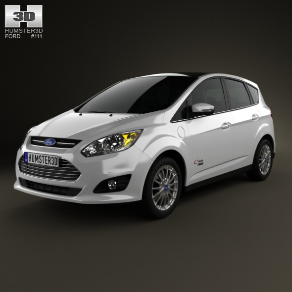 3DOcean Ford C-MAX Energi 2012 5596752