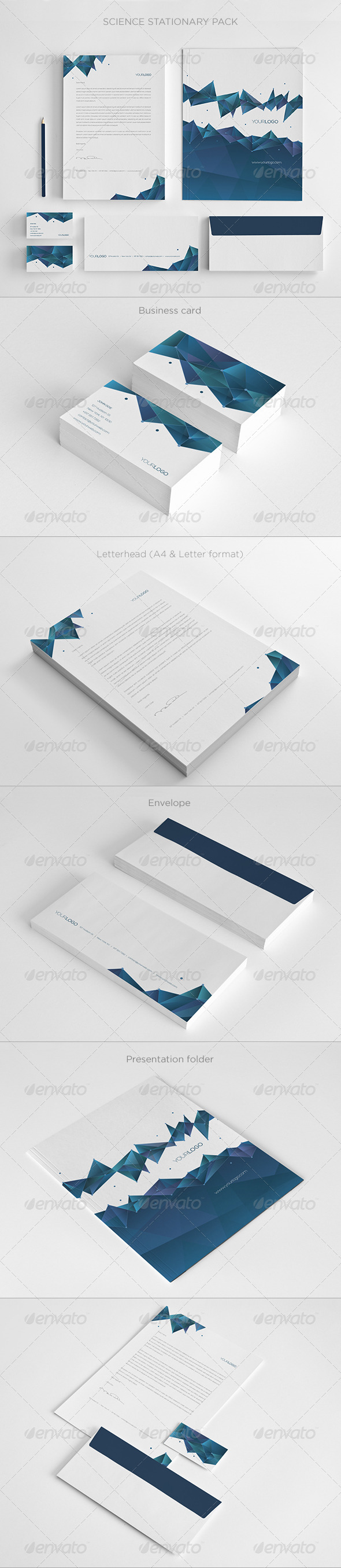 GraphicRiver Science Stationary 5596892