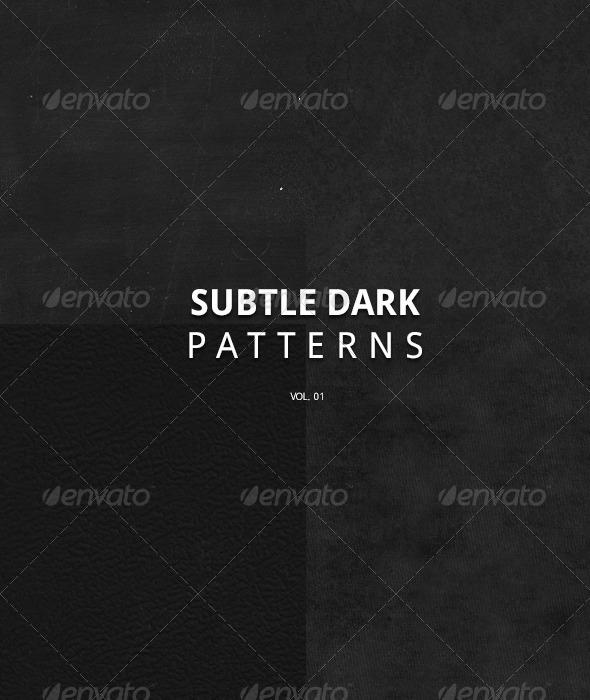 GraphicRiver Subtle Dark Patterns Volume I 5596923