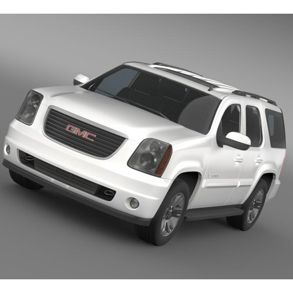 3DOcean GMC Yukon SLT 5599867
