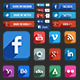 Social Media Icons - GraphicRiver Item for Sale