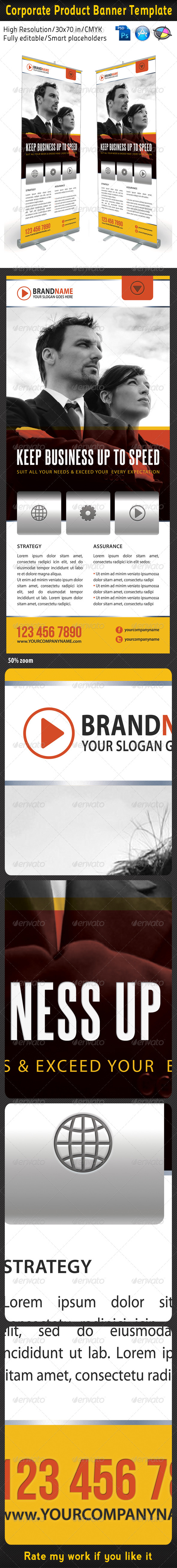 Corporate Multipurpose Banner Template 11 - Signage Print Templates
