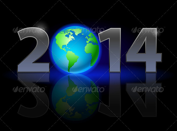 GraphicRiver New Year 2014 5600716