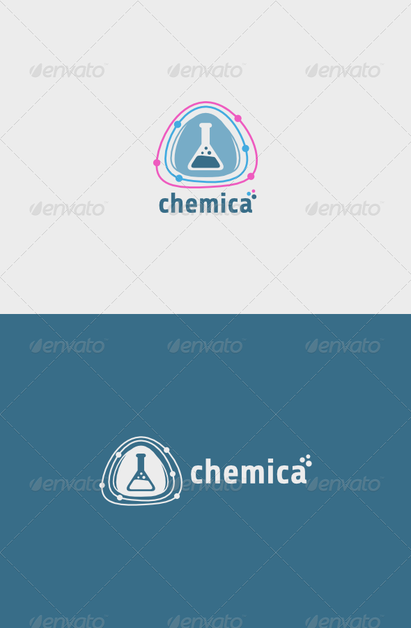 GraphicRiver Chemica Logo 5600724