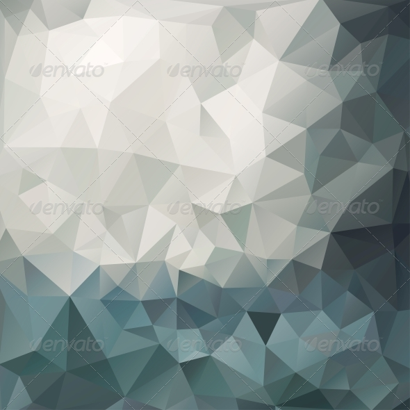 GraphicRiver Abstract Multicolored Triangle Background 5600874