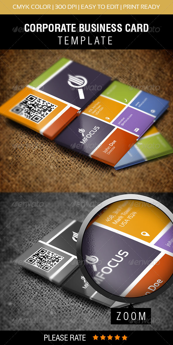 GraphicRiver Metro Style Business Card 5602592
