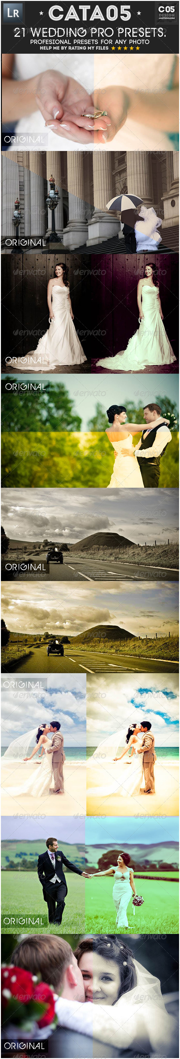 21 Wedding Pro Presets - Lightroom Presets Add-ons