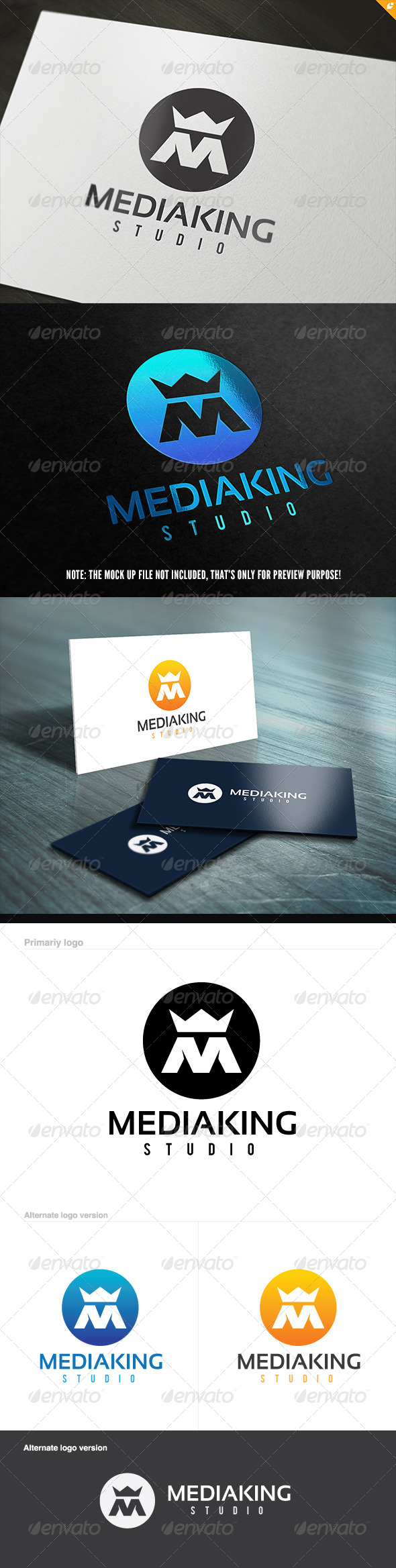 GraphicRiver Media King Logo 5604048