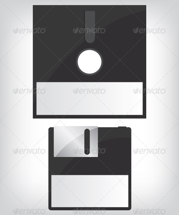 GraphicRiver Diskette Illustration 5604154