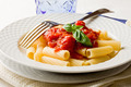 Pasta with Tomato Sauce and Basil - PhotoDune Item for Sale