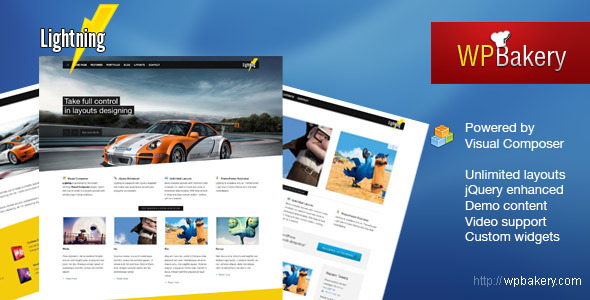 Lightning - Business &amp; Portfolio WordPress Theme